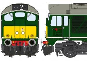 Class 24/1 BR Standard Green
