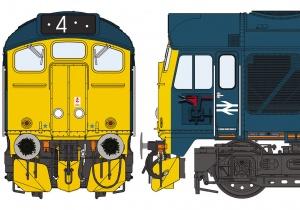 Class 24/1 BR Blue – Inverurie
