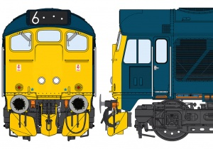 Class 24/1 BR Blue – TOPS (bodyside)