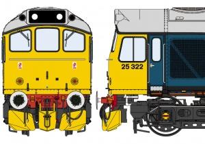 Class 25/3 BR 'Ice Cream Van'