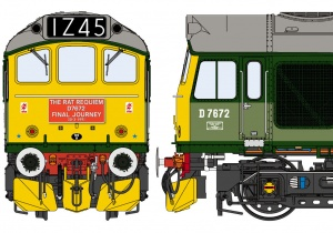Class 25/3 BR 'Celebrity' Green