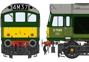 Class 25/3 BR Two-Tone Green