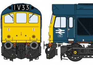 Class 25/3 BR Blue – Early