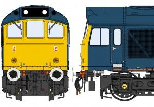 Class 25/3 BR Blue – Rainhill 150