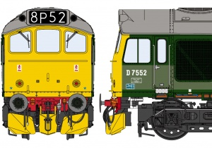 Class 25/2 BR Two-Tone Green – Late