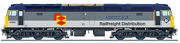 Class 47/4 No. 47555