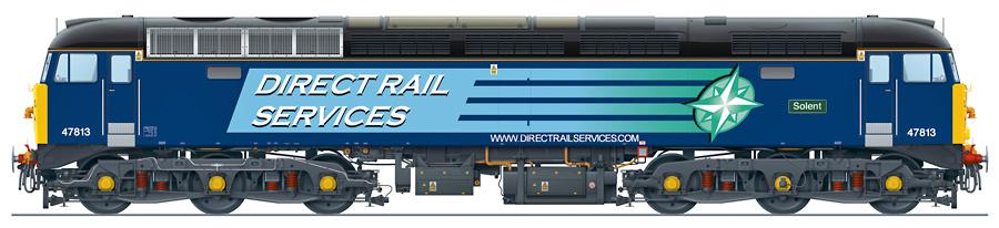 Class 47/8 No. 47813
